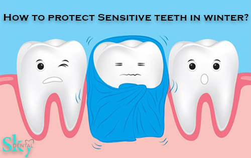 Battling sensitive teeth in winter